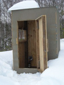 Heated Coyote Hut