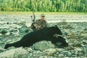 Bear Hunting in Maine - Bow Kill
